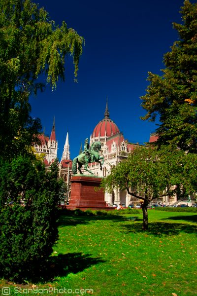 Parliament of Hungary back